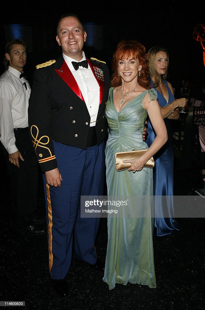 Kathy Griffin (right) and guest during 58th Annual Primetime Emmy Awards - Governors Ball at The Shrine Auditorium in Los Angeles, California, United States.