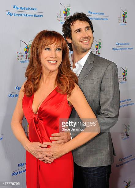 Kathy Griffin and Josh Groban attend the UCSF Medical Center and The Painted Turtle Present A Starry Evening of Music Comedy Surprises at Davies...