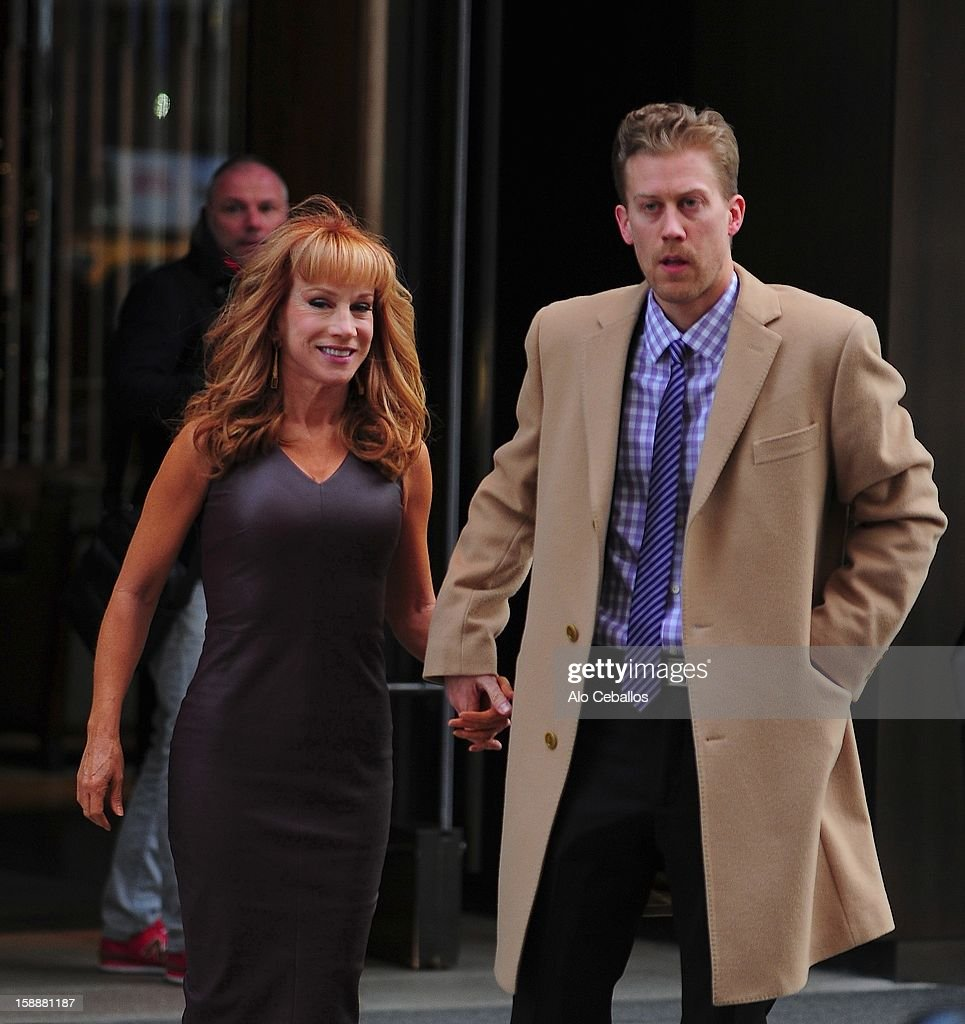 <a gi-track='captionPersonalityLinkClicked' href=/galleries/search?phrase=Kathy+Griffin&family=editorial&specificpeople=203161 ng-click='$event.stopPropagation()'>Kathy Griffin</a> and Randy Bick are seen in Soho on January 2, 2013 in New York City.