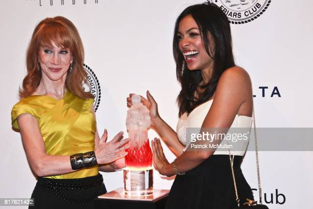 Kathy Griffin and Rosario Dawson attend THE NEW YORK FRIARS CLUB ROAST OF QUENTIN TARANTINO at Friars Club on December 1 2010 in New York City