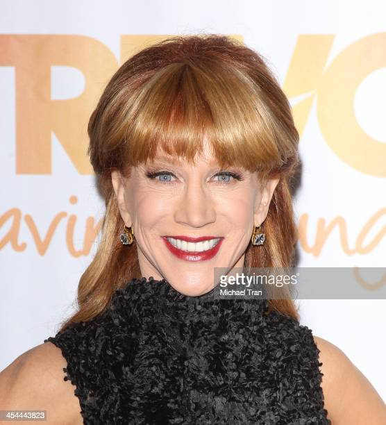 Kathy Griffin arrives at the 15th Annual Trevor Project Benefit held at Hollywood Palladium on December 8 2013 in Hollywood California