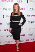 Kathy Griffin attends Nylon and Fashion Police's 'Fifty Shades Of Grey' Release Party at Dream Downtown on February 11 2015 in New York City