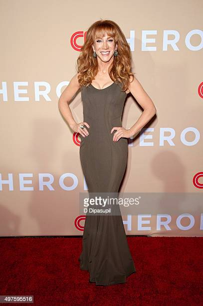 Kathy Griffin attends the 2015 CNN Heroes An AllStar Tribute at the American Museum of Natural History on November 17 2015 in New York City