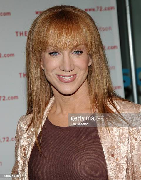 Kathy Griffin during Kitson And Kabbalah Celebrate 'The Red String Book' Arrivals at Kitson in Beverly Hills California United States