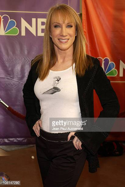 Kathy Griffin during NBC All Star Casino Night 2003 TCA Press Tour Arrivals at Renaissance Hotel Grand Ballroom in Hollywood California United States