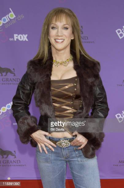 Kathy Griffin during The 2003 Billboard Music Awards Outside Arrivals at MGM Grand Garden Arena in Las Vegas Nevada United States