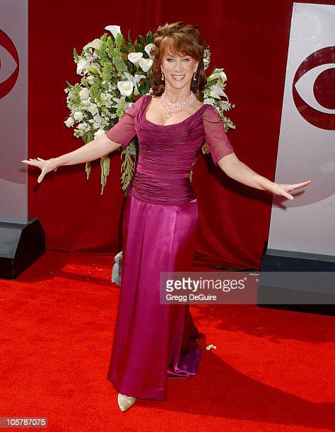 Kathy Griffin during The 57th Annual Emmy Awards Arrivals at Shrine Auditorium in Los Angeles California United States