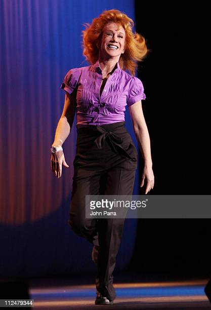 Kathy Griffin performs at Hard Rock Live in the Seminole Hard Rock Hotel Casino on August 12 2009 in Hollywood Florida
