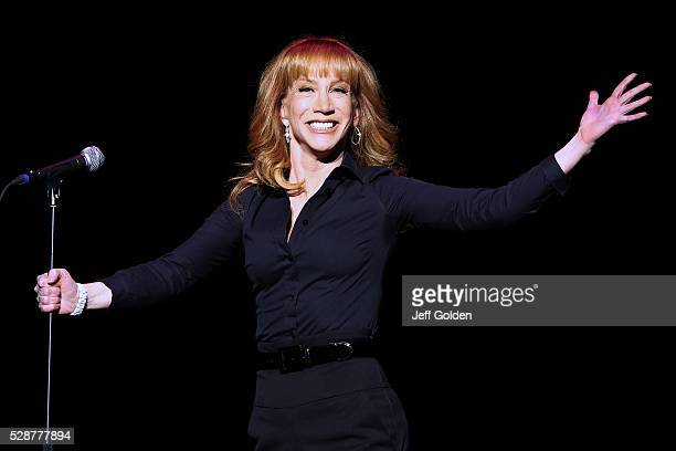 Kathy Griffin performs at Thousand Oaks Civic Arts Plaza on May 6 2016 in Thousand Oaks California