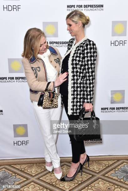 Kathy Hilton and Nicky Hilton Rothschild attend Hope for Depression Research Foundation's 11th Annual Luncheon Honoring Ashley Judd at The Plaza...