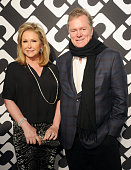 Kathy Hilton and Rick Hilton arrive at Diane Von Furstenberg's 'Journey Of A Dress' premiere opening party at Wilshire May Company Building on...