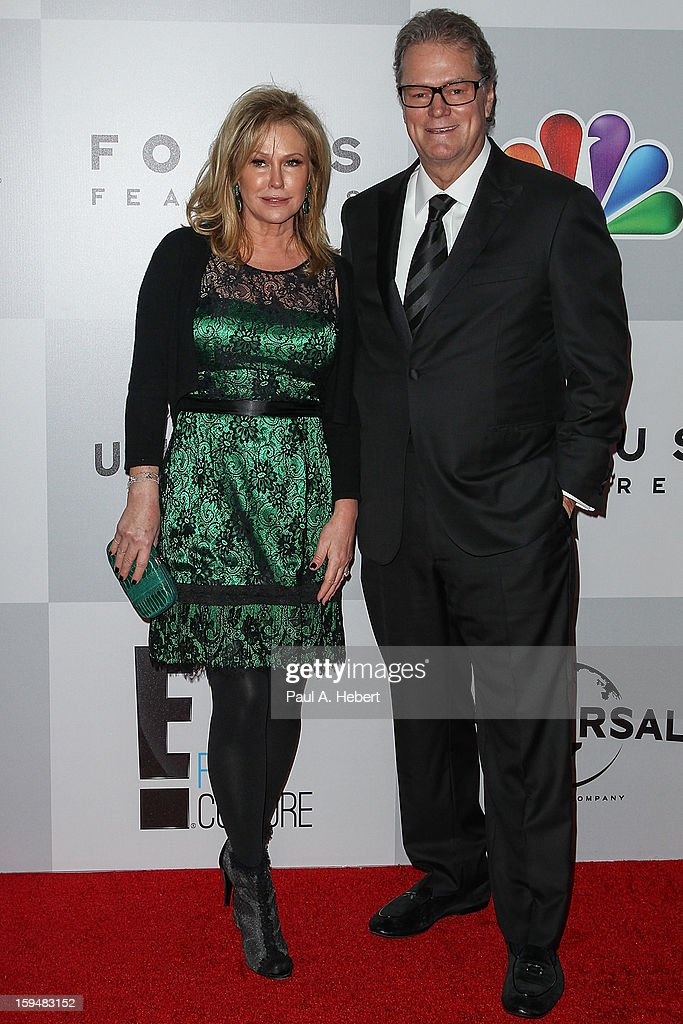 Kathy Hilton and Rick Hilton arrive at NBC Universal's 70th Annual Golden Globe Awards after party held at the Beverly Hilton Hotel on January 13, 2013 in Beverly Hills, California.