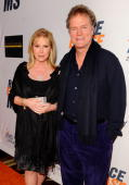 Kathy Hilton and Rick Hilton arrive at the 17th Annual Race to Erase MS event cochaired by Nancy Davis and Tommy Hilfiger at the Hyatt Regency...