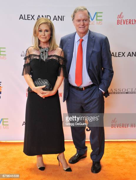 Kathy Hilton and Rick Hilton arrive at the 24th Annual Race To Erase MS Gala at The Beverly Hilton Hotel on May 5 2017 in Beverly Hills California