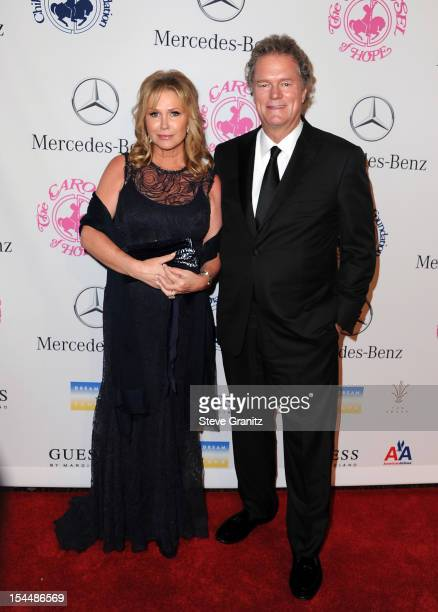 Kathy Hilton and Rick Hilton arrive at the 26th Anniversary Carousel Of Hope Ball presented by MercedesBenz at The Beverly Hilton Hotel on October 20...
