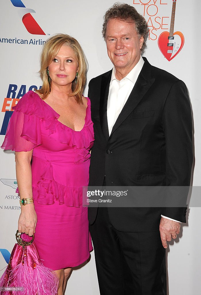 Kathy Hilton and Rick Hilton arrives at the 20th Annual Race To Erase MS Gala 'Love To Erase MS' at the Hyatt Regency Century Plaza on May 3, 2013 in Century City, California.