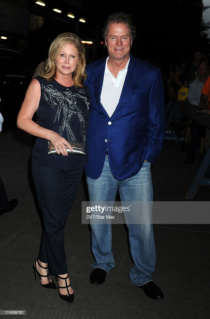 Kathy Hilton and Rick Hilton as seen on July 23, 2013 in New York City.
