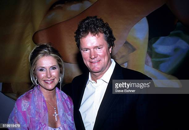 Kathy Hilton and Rick Hilton at Hugo Boss store opening New York May 8 2001