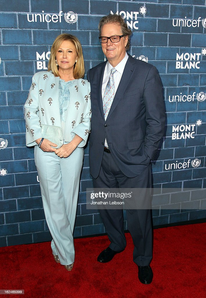Kathy Hilton and Rick Hilton attend a Pre-Oscar charity brunch hosted by Montblanc and UNICEF to celebrate the launch of their new 'Signature For Good 2013' Initiative with special guest Hilary Swank at Hotel Bel-Air on February 23, 2013 in Los Angeles, California.
