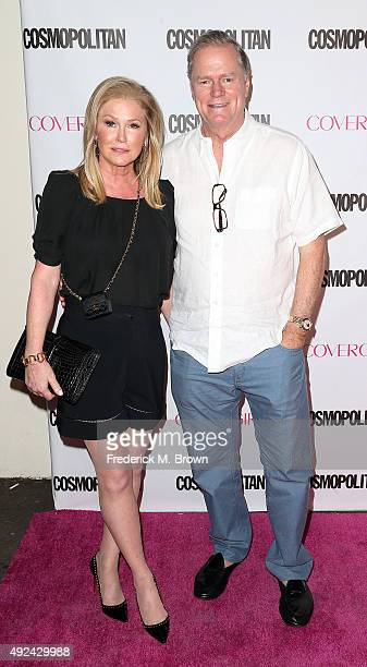 Kathy Hilton and Rick Hilton attend Cosmopolitan's 50th Birthday Celebration at Ysabel on October 12 2015 in West Hollywood California