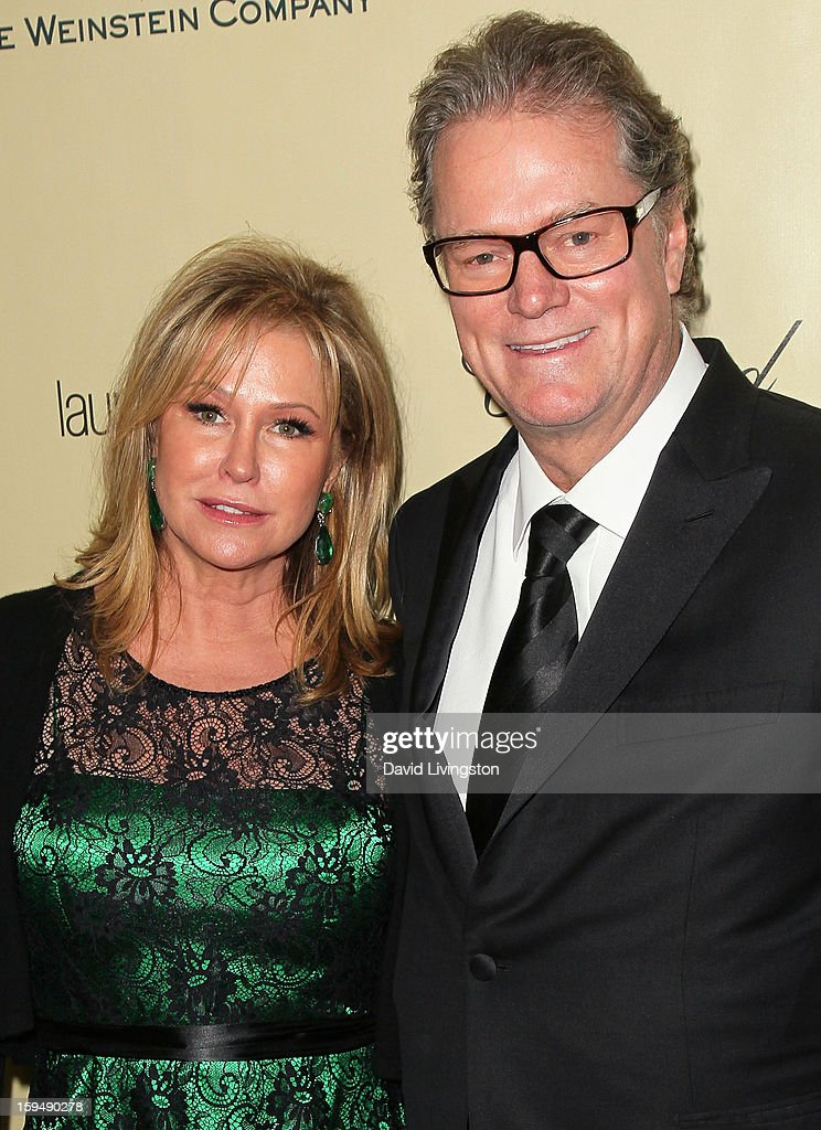 Kathy Hilton (L) and Rick Hilton attend The Weinstein Company's 2013 Golden Globe Awards After Party at The Beverly Hilton hotel on January 13, 2013 in Beverly Hills, California.