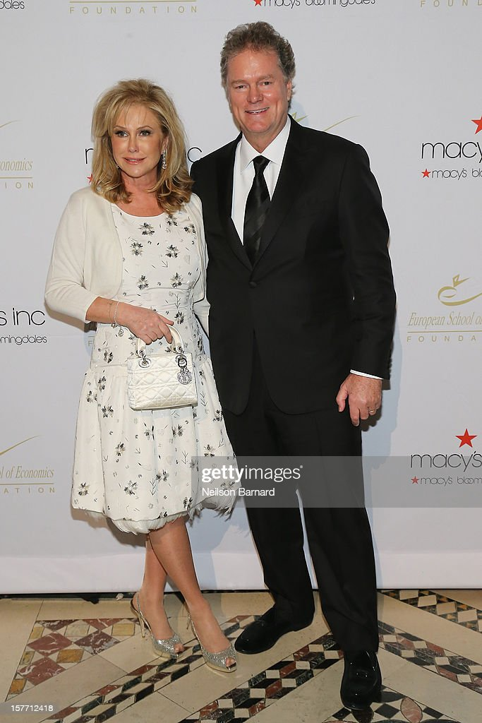 Kathy Hilton and Rick Hilton attends European School Of Economics Foundation Vision And Reality Awards on December 5, 2012 in New York City.