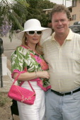 Kathy Hilton and Rick Hilton during 2005 West Hollywood Gay Pride Parade in West Hollywood California United States
