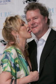 Kathy Hilton and Rick Hilton during Pure Hosts Kevin Federline Listening Party at Pure in Las Vegas Nevada United States
