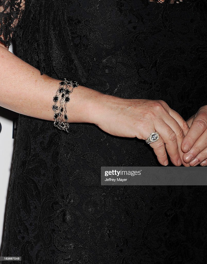 Kathy Hilton (bracelet, ring detail) at the Tacori's Annual Club Tacori 2013 Event at Greystone Manor Supperclub on October 8, 2013 in West Hollywood,