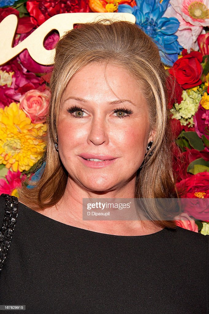 Kathy Hilton attends Ferragamo Celebrates The Launch Of L'Icona Highlighting The 35th Anniversary Of Vara at 530 West 27th Street on April 30, 2013 in New York City.
