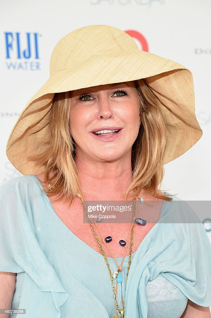 Kathy Hilton attends the OCRF's 17th Annual Super Saturday Hosted By Kelly Ripa And Donna Karan on July 26 2014 in New York City