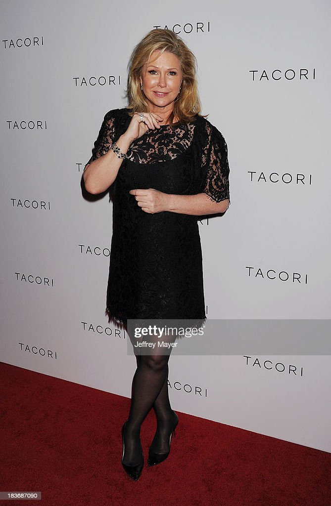 <a gi-track='captionPersonalityLinkClicked' href=/galleries/search?phrase=Kathy+Hilton&family=editorial&specificpeople=209306 ng-click='$event.stopPropagation()'>Kathy Hilton</a> attends the Tacori's Annual Club Tacori 2013 Event at Greystone Manor Supperclub on October 8, 2013 in West Hollywood,