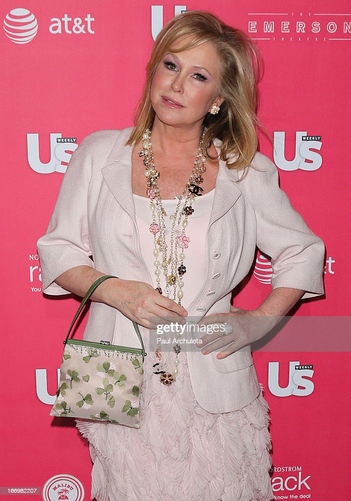 Kathy Hilton attends Us Weekly's annual Hot Hollywood Style issue party at The Emerson Theatre on April 18, 2013 in Hollywood, California.