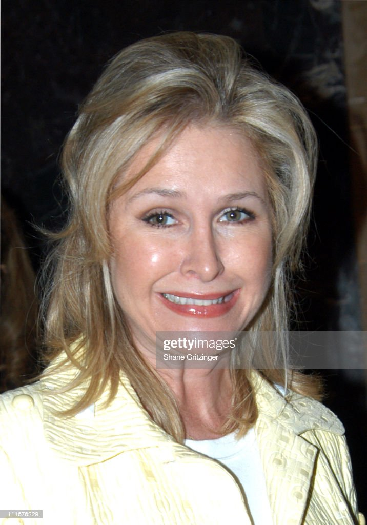 <a gi-track='captionPersonalityLinkClicked' href=/galleries/search?phrase=Kathy+Hilton&family=editorial&specificpeople=209306 ng-click='$event.stopPropagation()'>Kathy Hilton</a> during Dennis Basso Fashion Show - Fall/Winter 2004 at Cipriani in New York City, New York, United States.