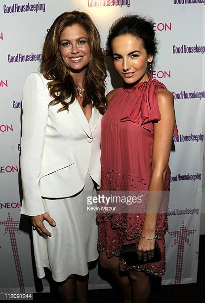 Kathy Ireland and Camilla Belle attend Good Housekeeping's annual Shine On Awards honoring remarkable women at Radio City Music Hall on April 12 2011...