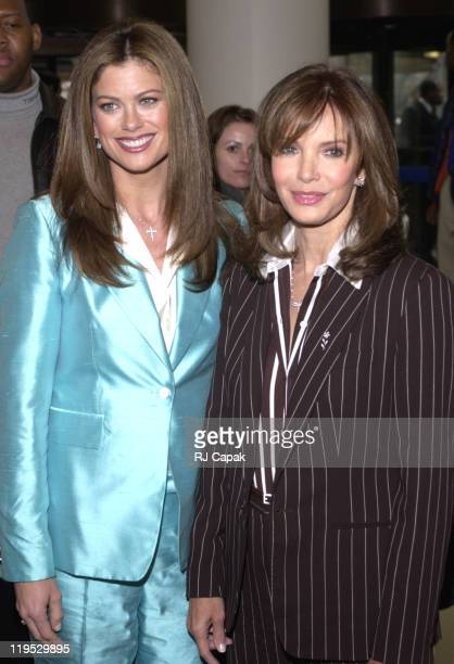 Kathy Ireland and Jaclyn Smith during Retail Giant Kmart relaunches it's BlueLight Special at Astor Place Kmart in New York City New York United...