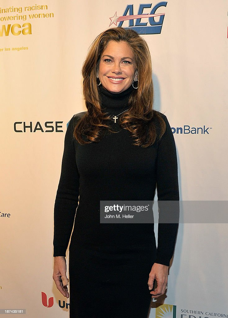 <a gi-track='captionPersonalityLinkClicked' href=/galleries/search?phrase=Kathy+Ireland&family=editorial&specificpeople=213018 ng-click='$event.stopPropagation()'>Kathy Ireland</a> attends the greater Los Angeles YWCA Rhapsody Ball at the Beverly Hills Hotel on November 8, 2013 in Beverly Hills, California.