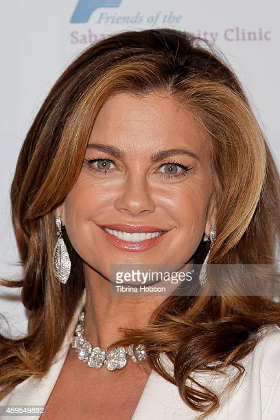 Kathy Ireland attends the Saban Clinic's 38th annual gala at The Beverly Hilton Hotel on November 24 2014 in Beverly Hills California