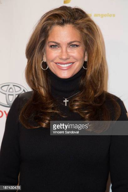 Kathy Ireland attends YWCA greater Los Angeles hosts The Rhapsody Ball fundraiser at Beverly Hills Hotel on November 8 2013 in Beverly Hills...