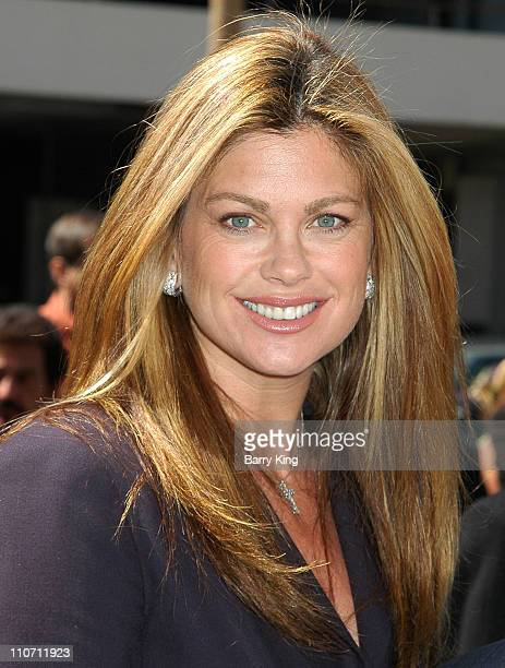 Kathy Ireland during Erik Estrada Honored with Star on the Hollywood Walk of Fame at 7021 Hollywood Blvd in Hollywood California United States