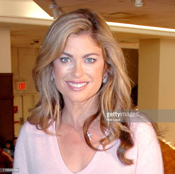 Kathy Ireland during Kathy Ireland Launches National 'Family Reading Night' Campaign in New York City November 16 2005 at FAO Schwartz in New York...