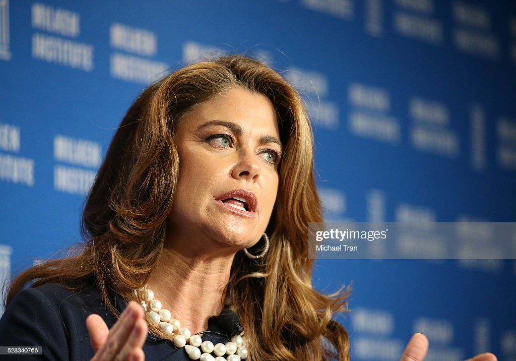 <a gi-track='captionPersonalityLinkClicked' href=/galleries/search?phrase=Kathy+Ireland&family=editorial&specificpeople=213018 ng-click='$event.stopPropagation()'>Kathy Ireland</a> speaks onstage during the 2016 Milken Institute Global Conference held at The Beverly Hilton Hotel on May 04, 2016 in Beverly Hills, California.