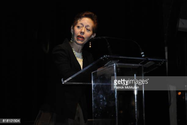 Kathy Kaplan attends Aperture Foundation 2010 in Benefit and Auction honoring Richard Misrach Steven Ames and Julie Saul at Chelsea Piers on November...