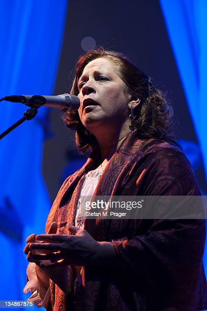 Kathy Kelly of Kelly Family performs on stage at Kleine Olympiahalle on December 4 2011 in Munich Germany