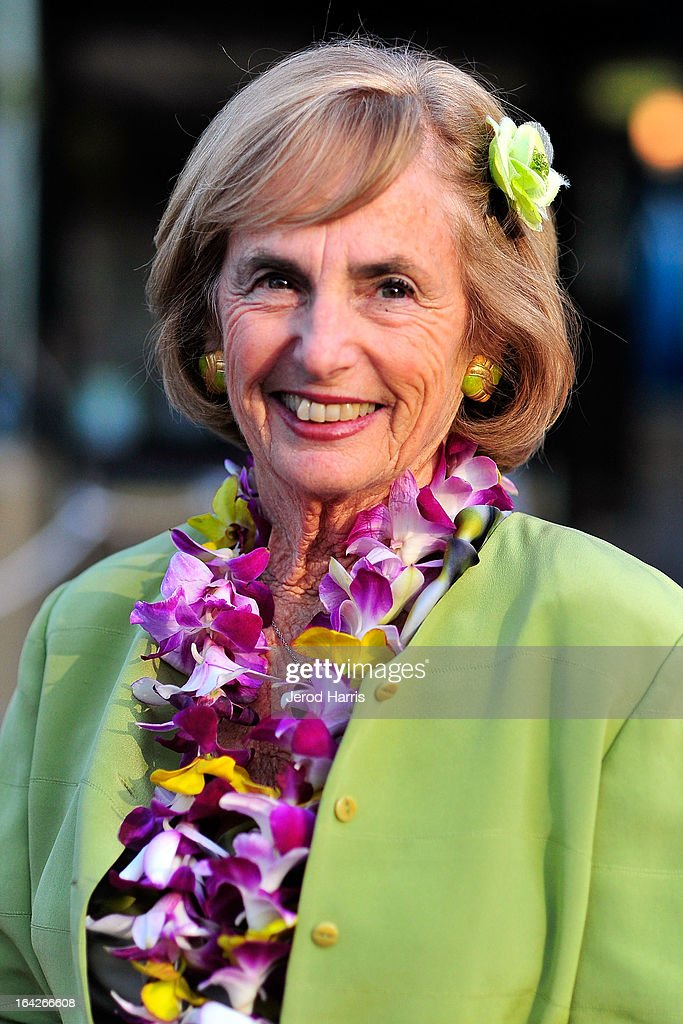 Kathy Kohner arrives at Disney's 'A Deeper Shade Of Blue' surfing documentary premiere at AMC Downtown Disney 12 Theater on March 21, 2013 in Anaheim, California.