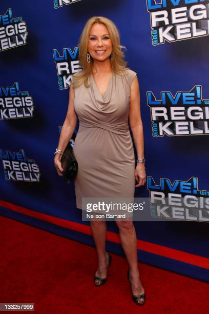 Kathy Lee Gifford attends Regis Philbin's Final Show of 'Live with Regis Kelly' at the Live with Regis Kelly Studio on November 18 2011 in New York...