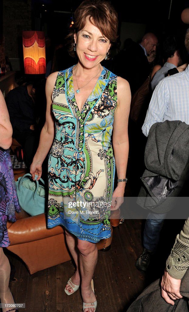 Kathy Lette attends an after party following 'A Curious Night at the Theatre', a charity gala evening to raise funds for Ambitious about Autism and The National Autistic Society, at Century Club on July 1, 2013 in London, England.