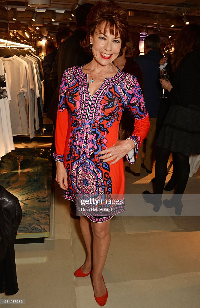 <a gi-track='captionPersonalityLinkClicked' href=/galleries/search?phrase=Kathy+Lette&family=editorial&specificpeople=604140 ng-click='$event.stopPropagation()'>Kathy Lette</a> attends the London Evening Standard Londoner's Diary 100th Birthday Party in partnership with Harvey Nichols at Harvey Nichols on May 25, 2016 in London, England.