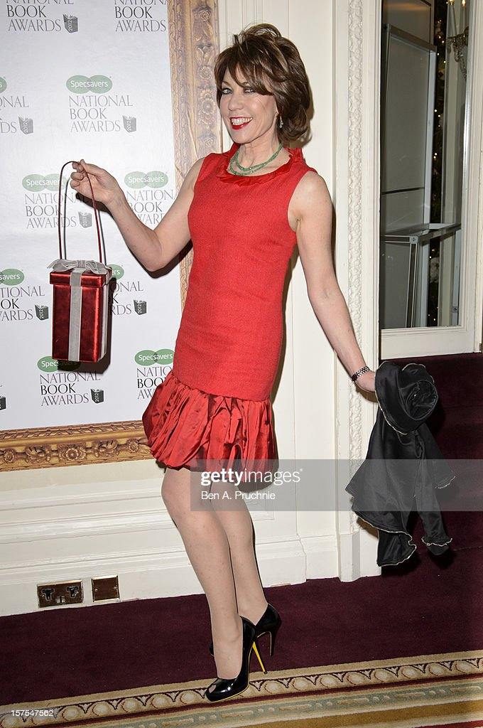 Kathy Lette attends the Specsavers National Book Awards at Mandarin Oriental Hyde Park on December 4, 2012 in London, England.