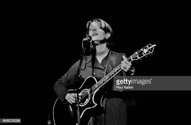 Kathy Mattea performing at Medinah Temple in Chicago Illinois March 30 1982